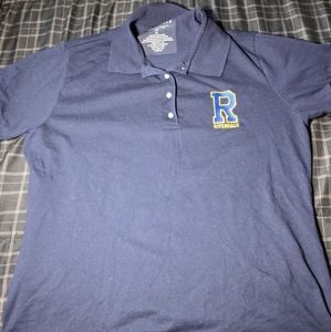 Riverdale navy blue polo shirt